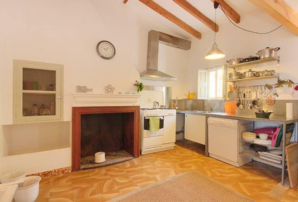 Küche, Kitchen, Cocina
