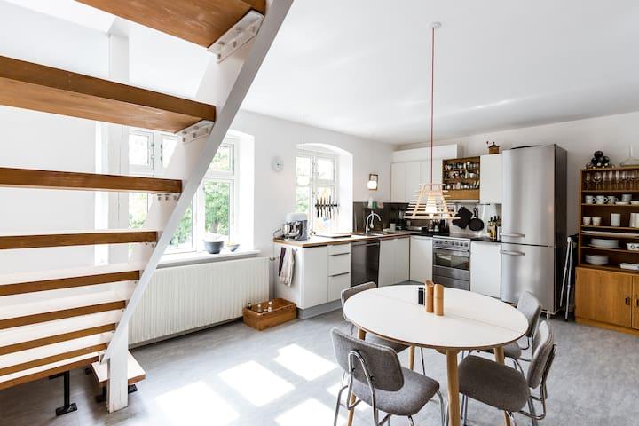 Architect townhouse, sunny garden - Aarhus - Rumah