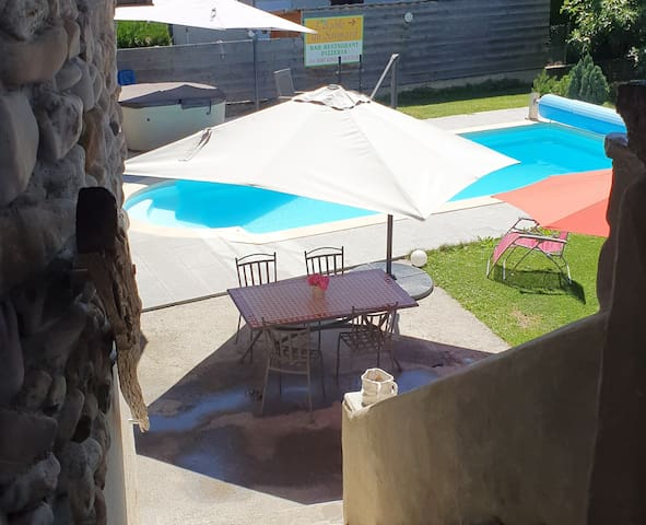 Appartement jaccuzi et piscine