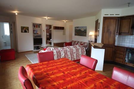 Flat 4/6 persons, Maloja, Engadin  - Maloja - Apartmen