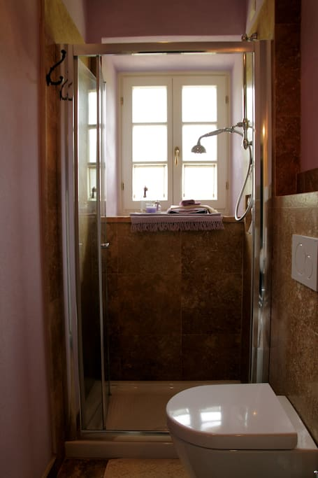 bagno della camera glicine