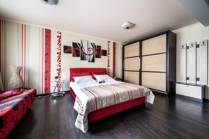 Современный стиль апартаментов