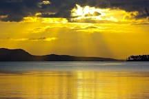 Sunrises of every colour!