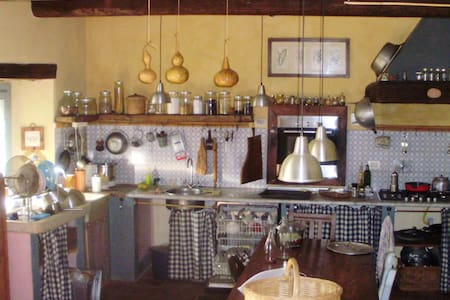 old farm in the countryside - Pecetto Torinese - Casa