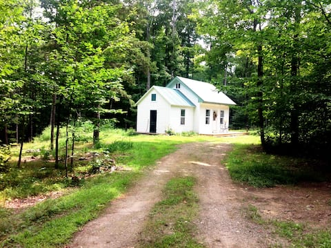 Semi off-grid cottage in the woods of S. Vermont