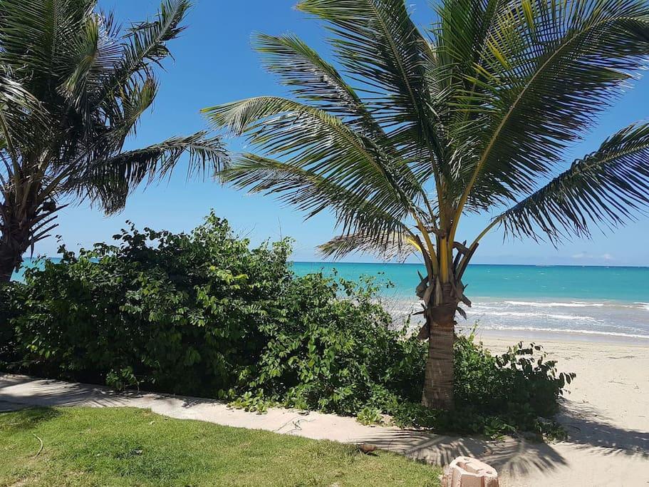 Beautiful isla verde beach.