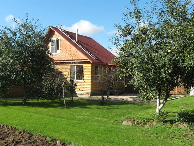WONDERHOUSE with sauna near Moscow - Solnechnogorsk - Hus