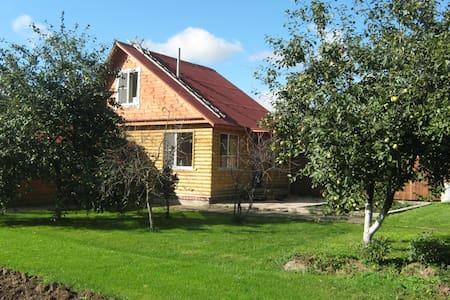 WONDERHOUSE with sauna near Moscow - Solnechnogorsk - Talo