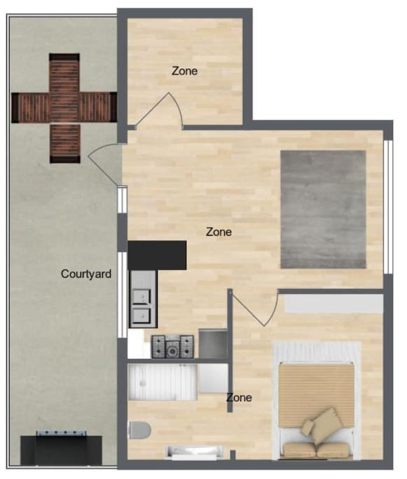 Floor Plan... a better one will be uploaded soon.