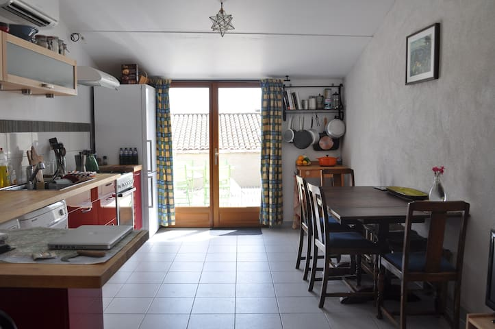 Renovated Medieval Provencale House - Puyloubier - House