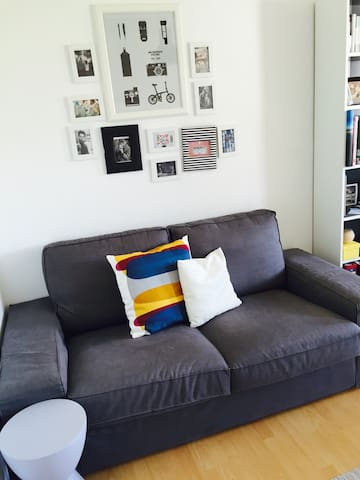 Cozy apartment close to City/Fair - Frankfurt am Main - Huoneisto