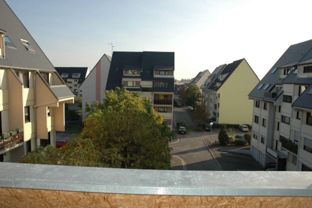 vue du 2ème balcon