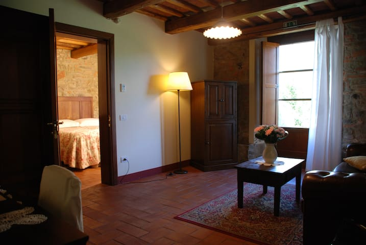 suite per tre persone in villa con pool - Buggiano Castello - Bed & Breakfast