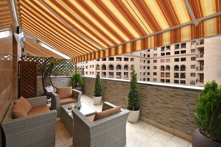 Yerevan4you Terrace Mandarin