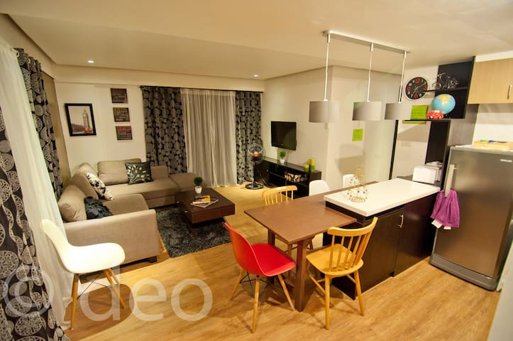3 BR Resort Condo Ohana Alabang near Mall- Netflix
