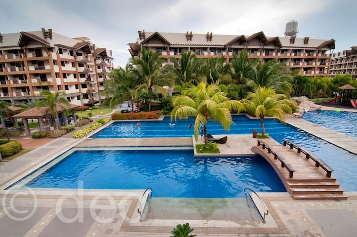 3 BR Resort Condo Ohana Alabang near Mall