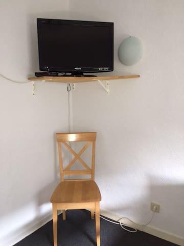 TV im Zimmer