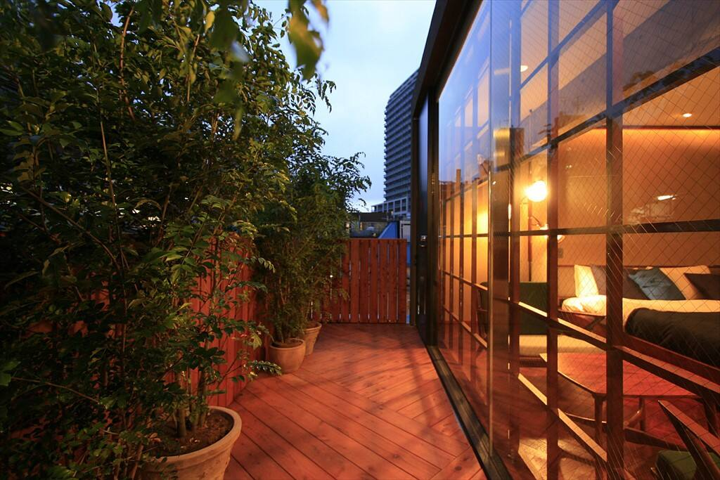 cozy balcony