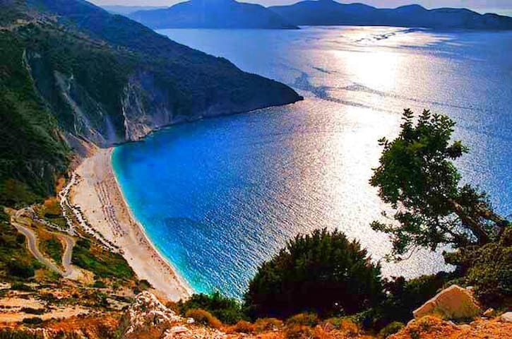 delight Myrtos beach staying in Myrtos hotel - Divarata - Apartment