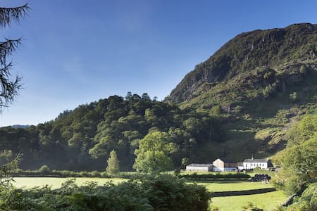 Hollows Farm in the Borrowdale Valley