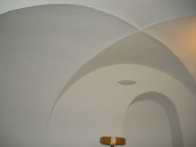 All ceilings are high Gothic vaulted in this 600 year old building, fully renovated.
