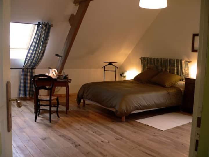 Le Terrier des Flandres:  Chambre d'hôtes Jacobus