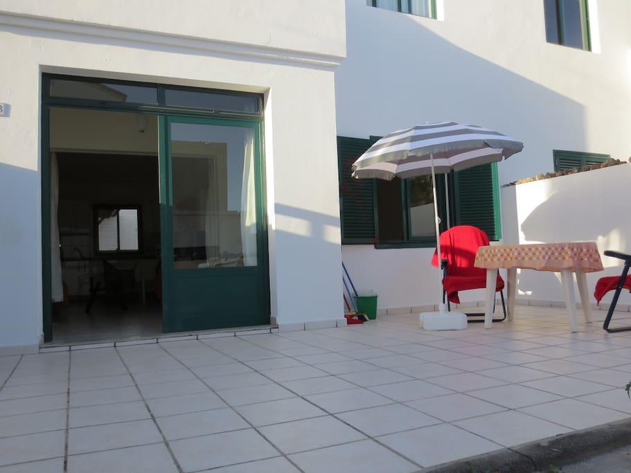 Sonnige 30m2 gr.Terrasse