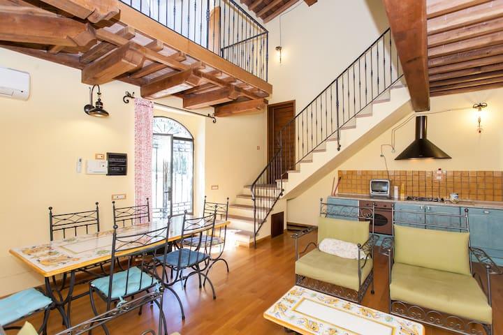 Villas and Apts Podere Caldaruccio  - Osteria di Ramazzano - Apartmen