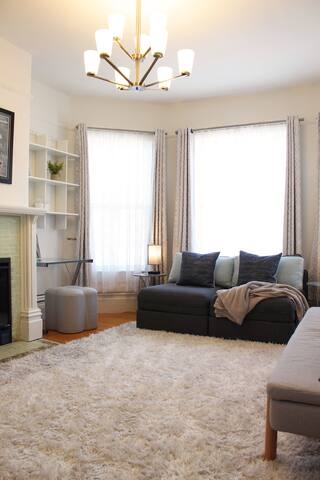Bedroom 3: can be 3 twins, or 1 double + 1 twin, or a relaxing sitting room