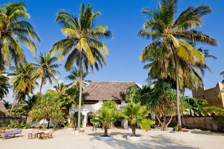 Villa Bahati, beach villa & garden - Zanzibar - Casa