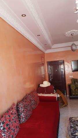 Appartement lumineux et microclimat à Marrakech
