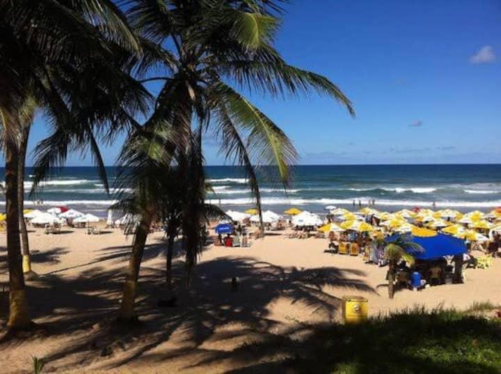 A beira Mar Praia Flamego Salvador