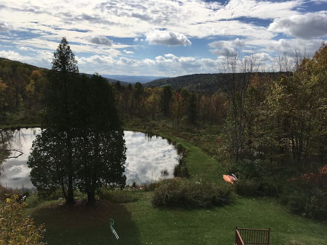 Strawhouse Country Getaway! 10 min from Binghamton