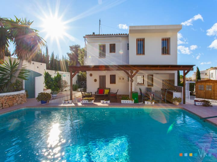 RAYODELSOL - Holiday house for 6 people in La Fustera, Benissa coast