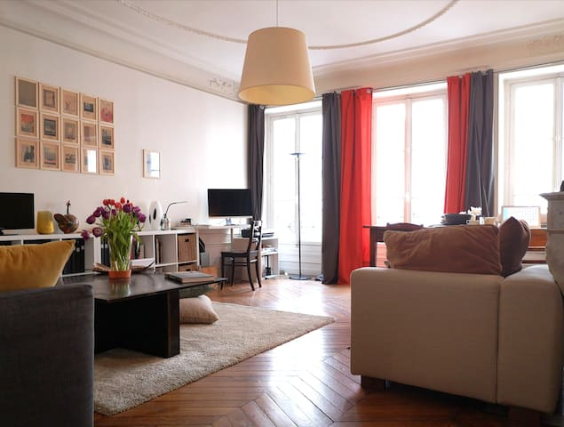 Large and cosy apartment in a great part of Paris