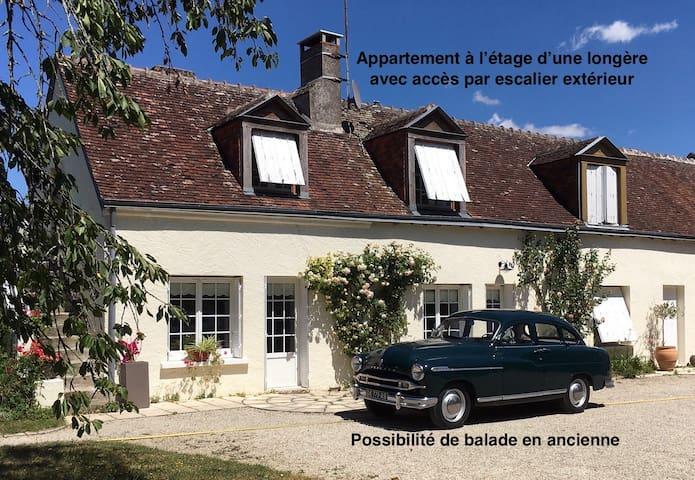 Gîte La Duboiserie pour 2/4 personnes en Touraine