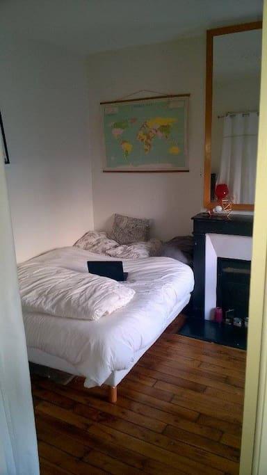 Chambre cosy à Montmartre