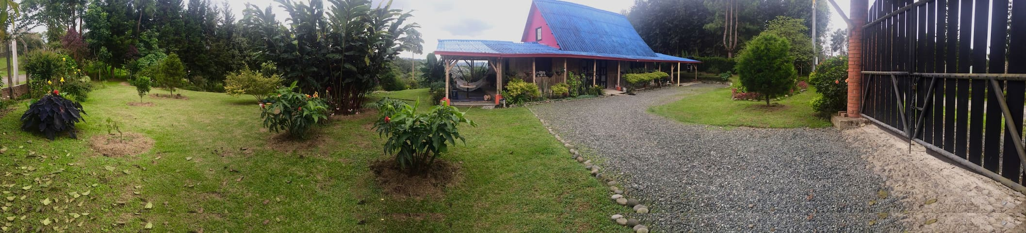 Stay at Barbas Bremen Natural Park (coffee region) - Pereira