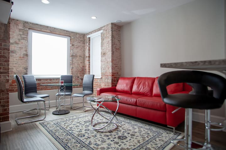 Apt ideally situated in DC |  walk to metro, Dupont, Logan, & monuments!