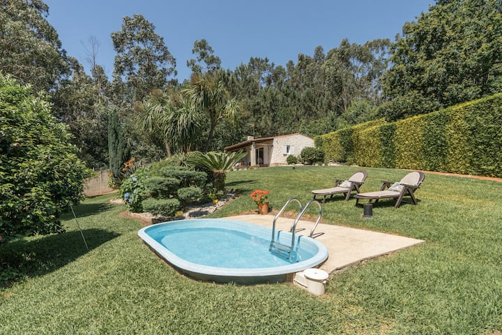 Casa Costaneira con Chimenea y Piscina