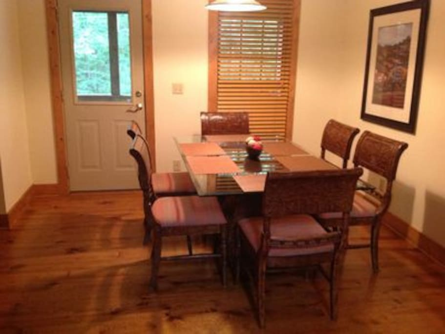 Dining Room with Plenty of Seating