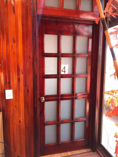 Habitación # 4 del hostal