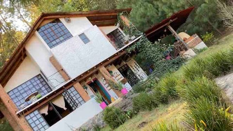 Casa de Campo las Palomas (Bosque, ojo de agua)