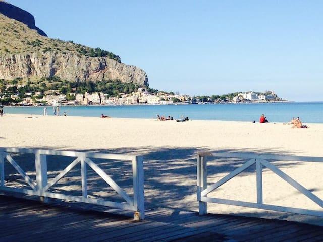 Villa Carolina, terrazza vista mare - Palermo - Ev