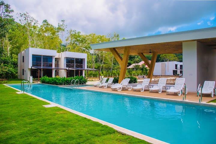 Brand new townhome w/ balcony & shared pool - walk to beach & downtown!