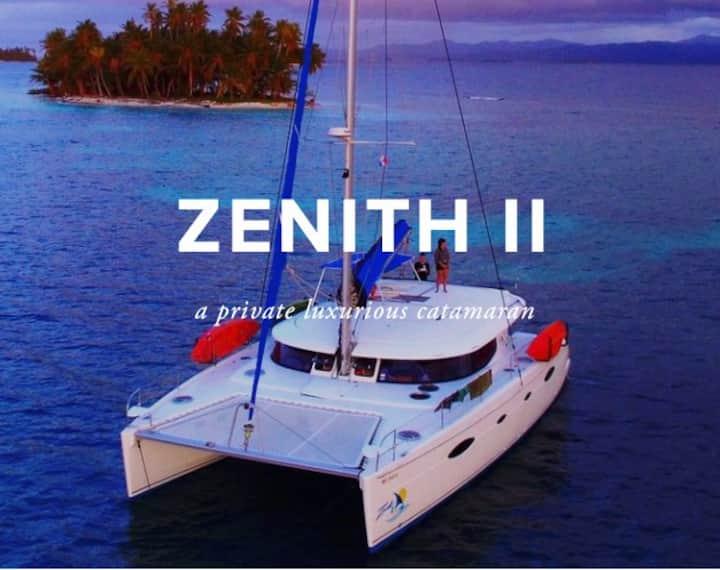 Zenith ll Luxury San blas Charter