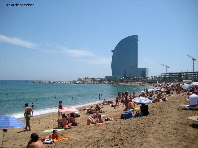 Barcelonetta beach - 20 min by subway