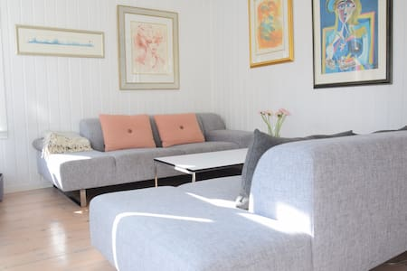 Spacious apt with balcony and a great view - Bergen