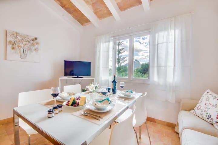 Sol de Mallorca 2: Tennisplatz, Pool, Wifi, TV ! - Cala Mesquida - Daire
