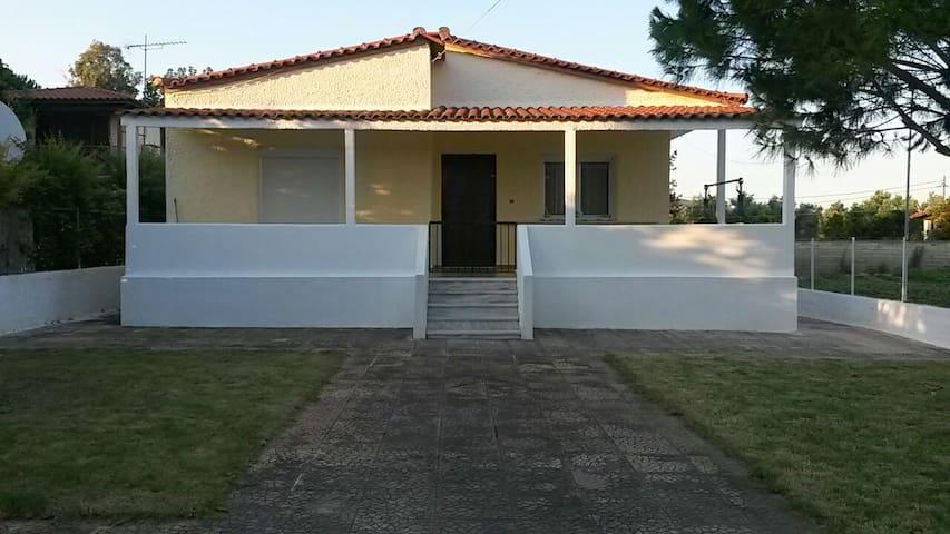 Alexander's house with garden - Σχινιας - House